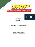 Bromatologia 2012