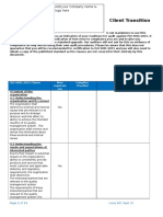 ISO 9001-2015 Client-Transition-Checklist - Add Your Co Name