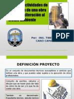 Clase N_ 6, Etapas y Áreas de Influencia de Una Obra Civil