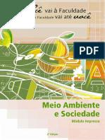 Módulo Completo Meio Ambiente e Sociedade