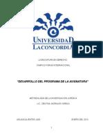 Metodología para la investigación juridica