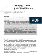 Stem Cell and Biomaterials Research in Dental Tissue Engineering and Regeneration 2012 Dental Clinics of North America