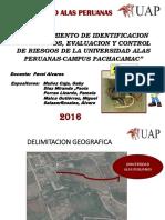 Proced e Identificacion de Riesgos Campus Pachacamac Uap