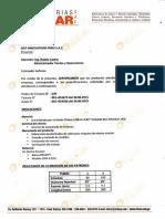 Certificacion Block Elikar A106 Gr B 2 Inch. Sch 80 y 160