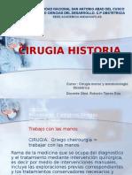 1 Cirugia Historia