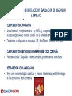 IPERC 1.2 Importancia de La Identificacion y La Evaluacion de Riesgos en El Trabajo
