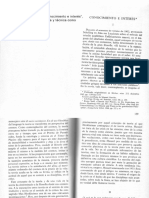 Habermas Jurgen - Conocimiento e Interes (Articulo)