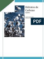 Apuntes Hidratos de Carbono UCINF