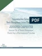 Jennifer Carpenter - Caloosahatchee Estuary Basin Management Action Plan