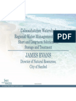 James Evans - Caloosahatchee Watershed Regional  Water Management Issues