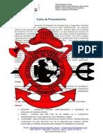 Carta de Presentacion Bomberos Navales Sac.