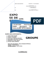 Expose de Francais