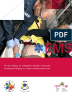 Patient Safety in EMS Full Report