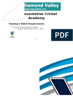 dvca rep cricket info schedule under 16