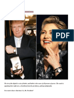 The Watches of Trump and Hillary Clinton