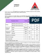 Ficha Tecnica - Articor