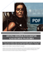 Diving Deeper Into Depth Gauge Dive Watches
