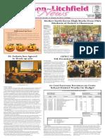 Hudson~Litchfield News 10-28-2016