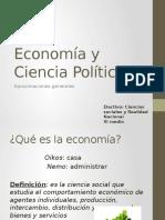 Economía y Ciencia Política
