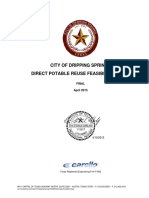 Dripping Springs Direct Potable Reuse Feasibility Study