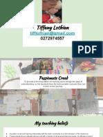 curriculum vitae-tiffany lothian
