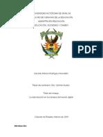 La Reproducciòn en Los Tiempos Del Mundo Digital Por Gerardo Antonio Rodrìguez Avendaño.