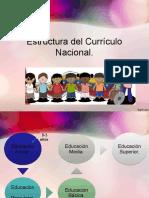 Estructura Del Currículo Nacional