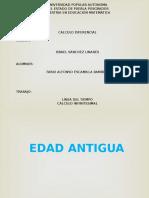 HIsTORIA CALCULO INFINITEsIMAL