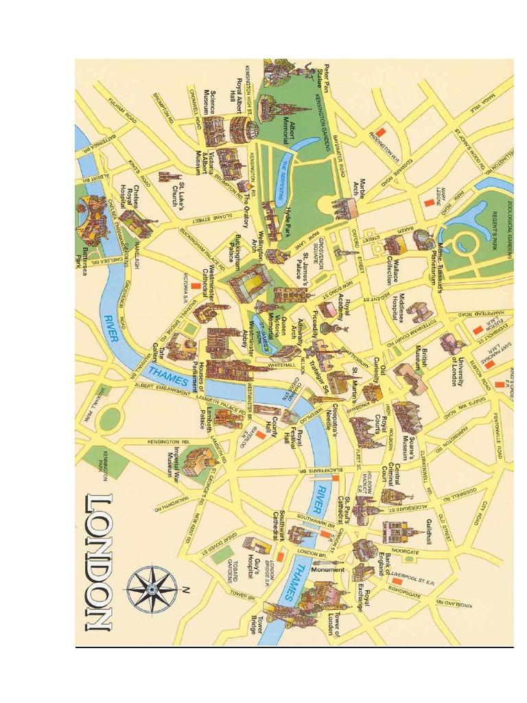 Mapa Turistico Londres Pdf.Mapa Guia Turistica De Londres Pdf Londres Palacio De Westminster
