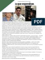 27-10-16 La respuesta que esperaban. - El Diario de Coahuila
