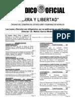 Expedición de Pensiones de Los Servidores Públicos de Los Municipios Del Estado de Morelos.