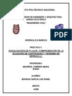 Practica 3 Hidraulica Basica ESIA