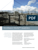 Flyer Siveillance SiteIQ Analytics