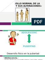 Pubertad Normal y Alteraciones Agosto 2016