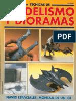 Técnicas de Modelismo y Dioramas-(24)-Naves Espaciales, Montaje de Un Kit