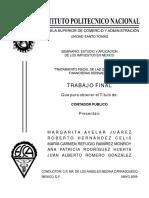 Tratamiento Fiscal Operaciones Derivadas Mexico