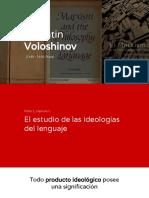 Voloshinov - El Marxismo y La Filosofía Del Lenguaje