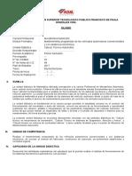 2. SILABO - Cálculo Tecnico Automotriz