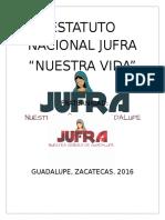 Estatuto Nacional Jufra guadalupe zacatecas