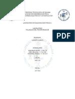 POLARIDAD DEL TRANSFORMADOR