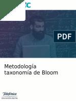 Metodologia Taxonomia de Bloom
