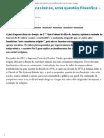 Religiões Afro-brasileiras, Uma Questão Filosófica – Por Nei Lopes