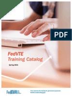 FedVTE Training Catalog
