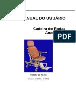 Cadeira de Rodas Anatome - Hill-Rom