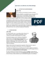 Personajes Importantes en La Historia de La Microbiología