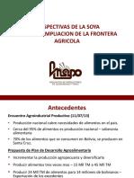 Foro SOYA 2014 Presentacion ANAPO