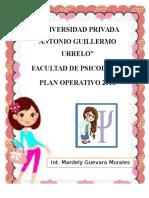 Plan Operativo La Merced III