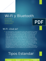 Wi Fi y Bluetooth