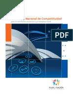 Honduras SEPLAN National Competitiveness Strategy