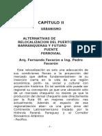 Alternativas de Relocalizacion de l Puerto de Barranqueras